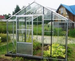 Теплица Ботаник стандарт 9м2