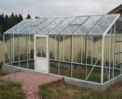 Тепличка Ботаник 15м2