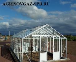 Теплица Ботаник Гигант 20м2